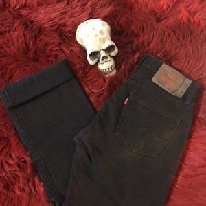 501 Levi's Button Fly Jeans